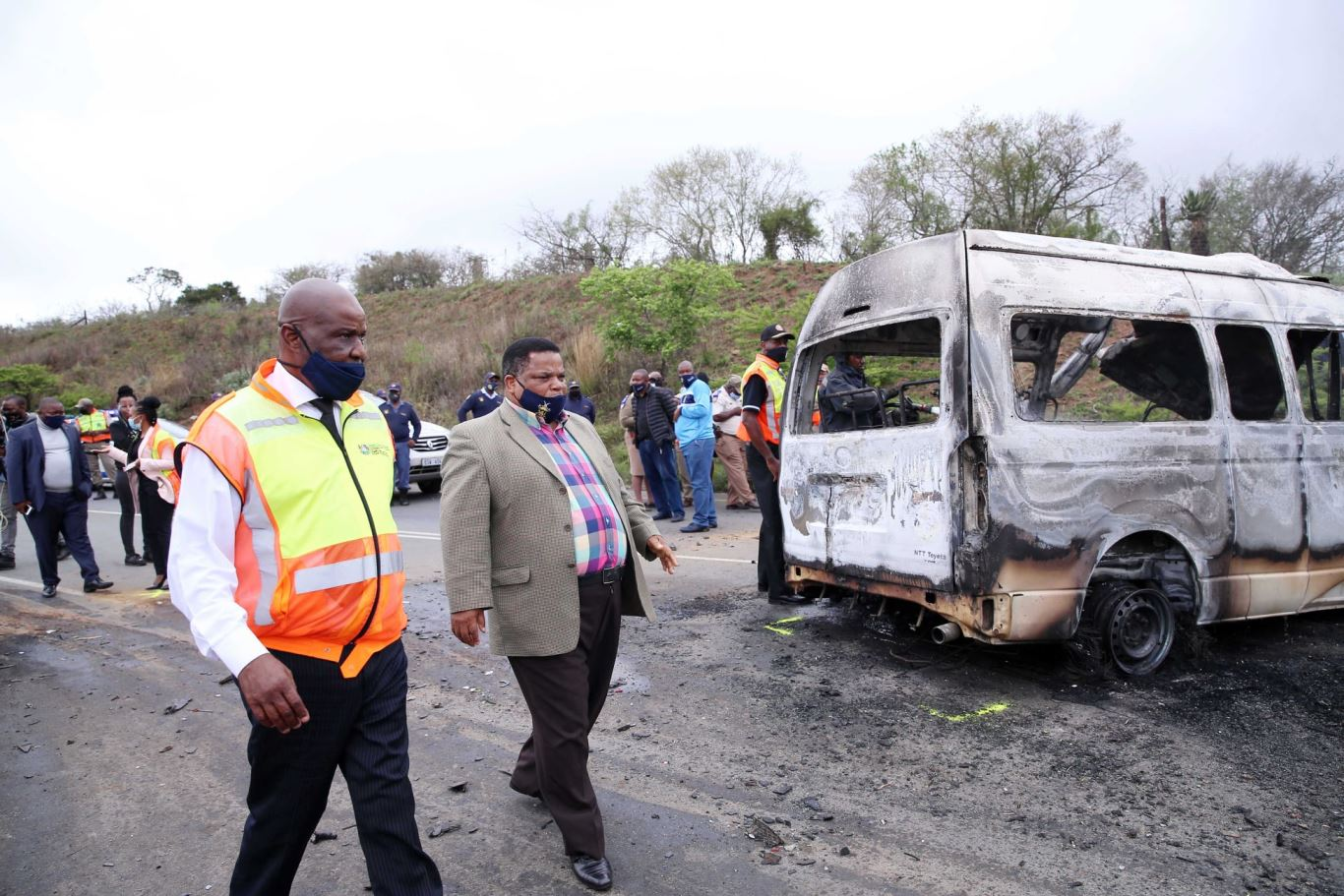 KZN MEC Ntuli pleads for extreme caution after horrific crash in KZN killed 16 people