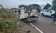 Multiple injured in a serious single-vehicle collision on the M7