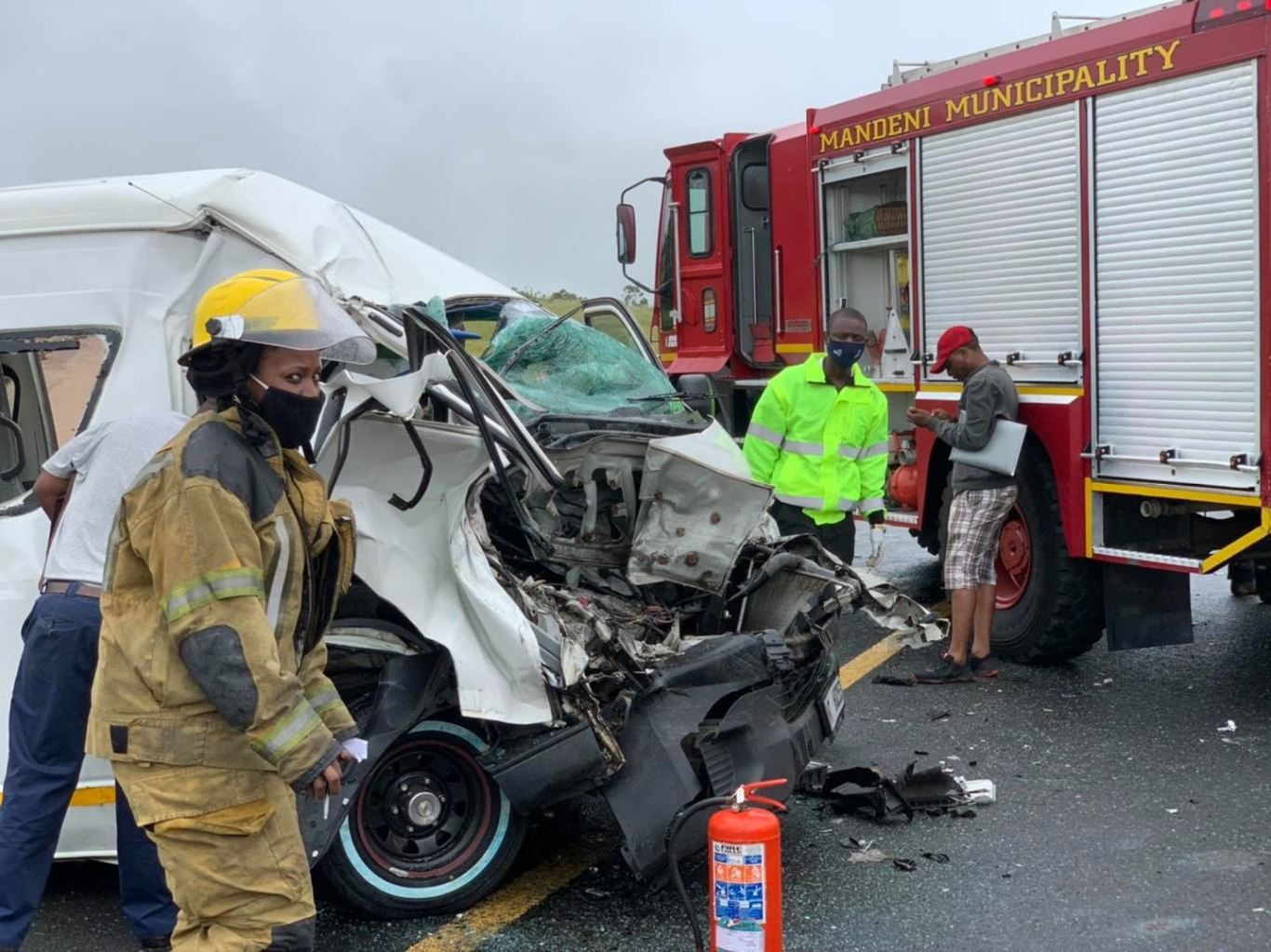 15 Injured in Taxi accident on the  N2, Gingindlovu