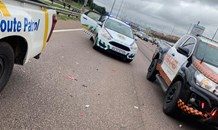 Fortunate escape from injury in multiple vehicle road crash at Atterbury Pretoria