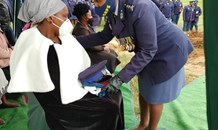 Eastern Cape SAPS family pay last respect to officer who passed away in a road crash