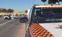 Two-vehicle collision in Centurion
