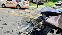 Vehicle collision leaves one injured in Berario