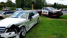 One injured in Hurlingham collision