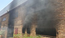 Two injured in a warehouse fire in Kya Sands