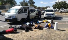 Winelands police members seize two firearms, ammunition and detain nine suspects in Wellington