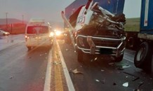 One injured in a truck crash on the N3 South past Montrose