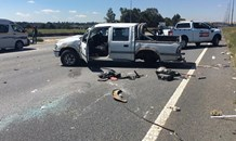 Vehicle collision on the N1 after Maraisburg