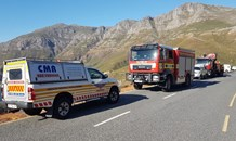 One killed, another injured as car is driven off Chapman's Peak Drive