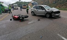 Biker killed in a collision on the R71, Limpopo