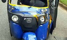 One person seriously injured when  tuk-tuk rear-ended a light delivery vehicle, Emmerentia