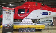 WearCheck Africa makes donation to SA Red Cross Air Mercy Service (AMS)