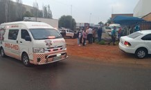 One person seriously injured in a collision in Jet Park