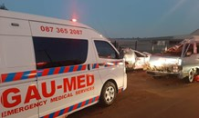 Multiple injuries in a collision on Elm Road and Glen Norton Road at Vlakfontein, Kempton Park.