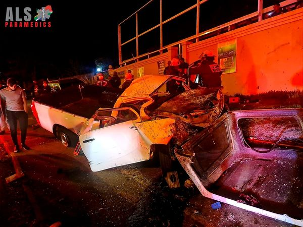 Two people have been killed and seven others injured in a horrific collision on the N3
