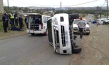 Vehicle Overturns at Parkgate, KwaZulu Natal
