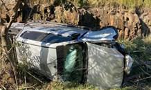 Two Injured In Overturned Bakkie: R102 Phoenix - KZN