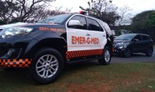 One injured in a collision at an intersection in La Lucia