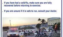 Jogger dies during run in Hilton