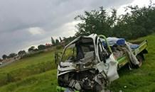 Three vehicle collision leaves three injured, Krugersdorp
