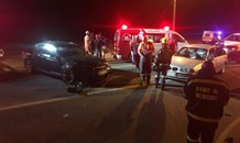 T-bone collision leaves four injured on the R28 near Randfontein.