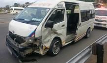 Higginson Highway Taxi crash leaves 9 Injured