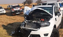 Two injured as three vehicles collide in Pretoria East