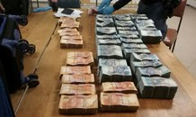 Police confiscated huge amount of cash on N1 and two men charged with money laundering