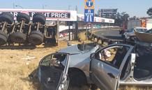 Four injured in Bedfordview collision