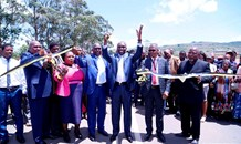 KZN Transport MEC opens phase 1 of the upgrade of main road P451 in KwaHlabisa.