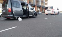 One injured in a collision in the Point Waterfront area
