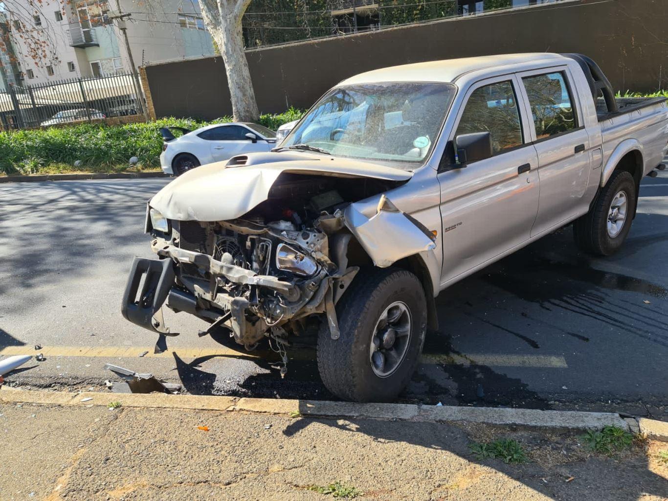 One injured in Parktown collision