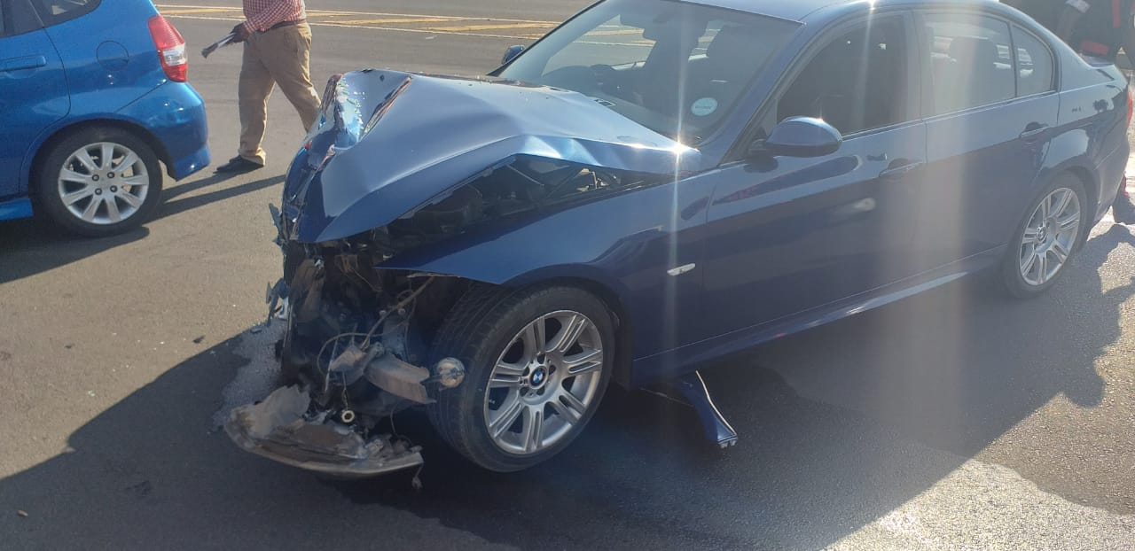 Four injured in a collision in Modderfontein
