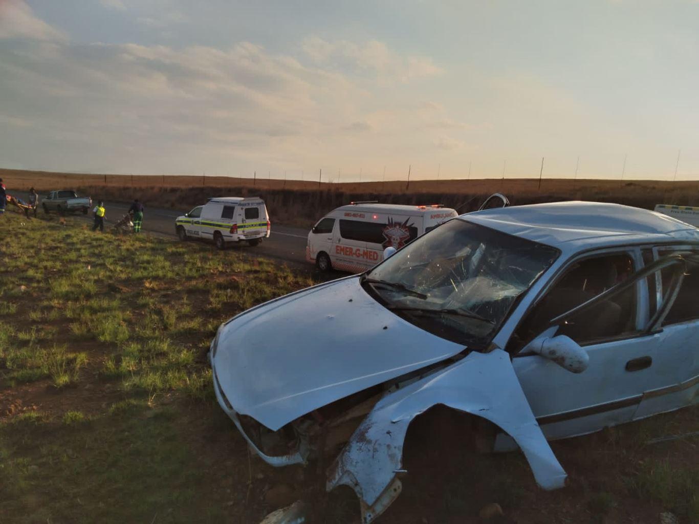 Five injured in Harrismith collision