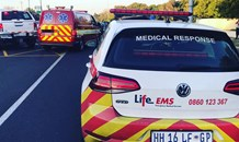 Four injured in a collision in Pinelands