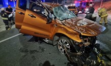 One injured in a collision at Bedfordview