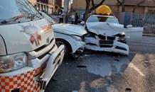 Three injured in Emmarentis collision