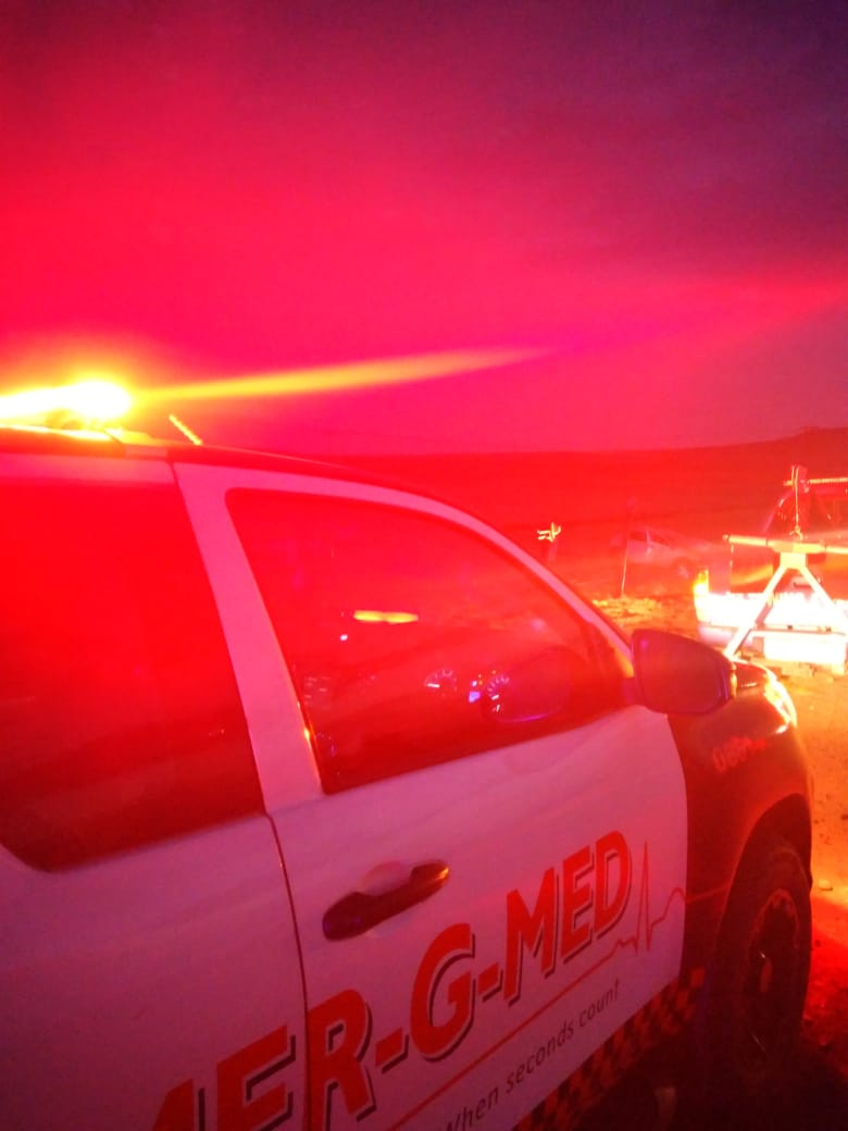 Two dead, one injured in a collision on the R103 in Harrismith