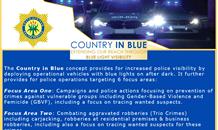 Police extending reach through blue light visibility
