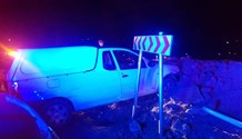One injured in a road crash on R114 and Marina.