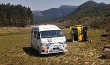 Three injured in a collision 120km from Nelspruit