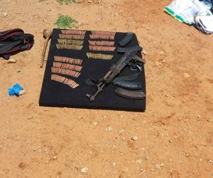 Three suspects arrested, hijacked vehicle, AK47 and 260 rounds of ammunition recovered by Police