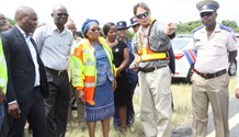 KZN Transport officials visit scene of horror crash on the N2 near Umzumbe