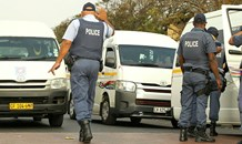 Stop-and-search operations held to quell Langa taxi violence.