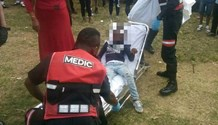 8-Year-Old Run Over in collision outside school in Verulam