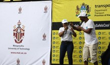 Road Safety Directorate of KZN held a road safety campaign at the Mangosuthu University of Technology
