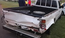 Three killed after bakkie loses tyre on the N2