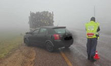 Bad driving conditions on the R71 between Polokwane and Tzaneen