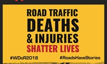 World Day of Remembrance for Road Traffic Victims 2018