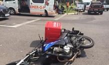 Biker injured in collision in Randburg